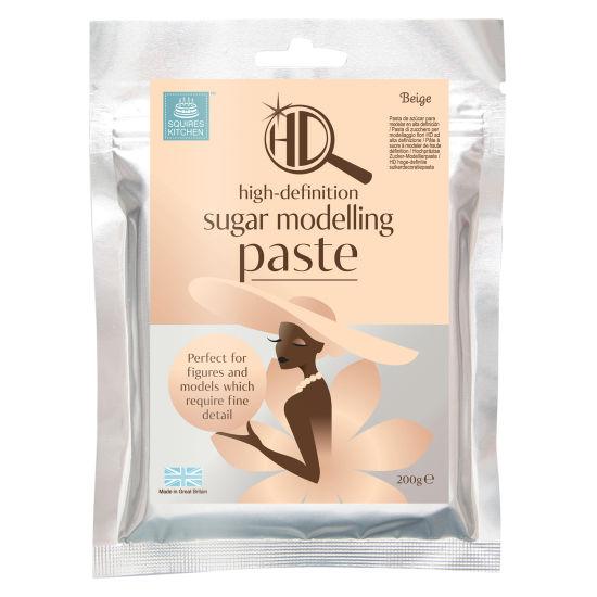 Squires Kitchen HD Sugar Modelling Paste Beige 200g