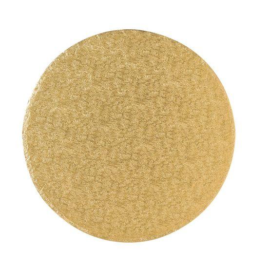 Gold Drum 1/2 Inch Thick Round 8 Inch