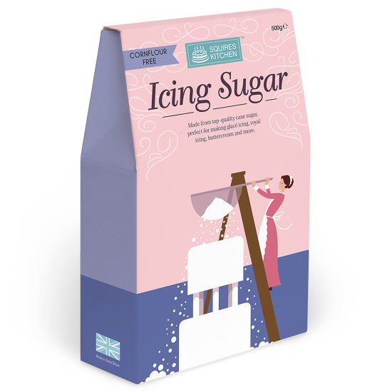 SK Cornflour Free Icing Sugar Boxed 500g