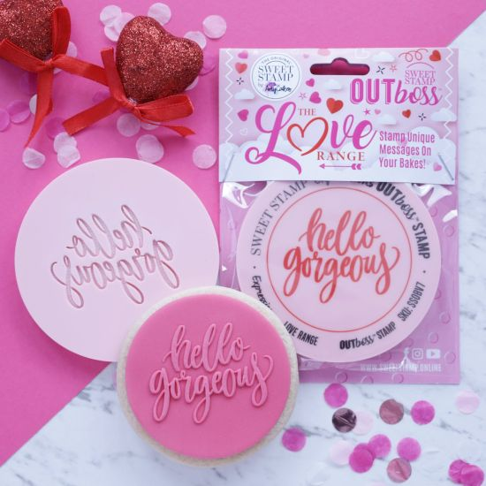Sweet Stamp OUTboss Love Expressions Hello Gorgeous
