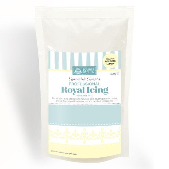 SK Royal Icing Delicate Lemon 500g
