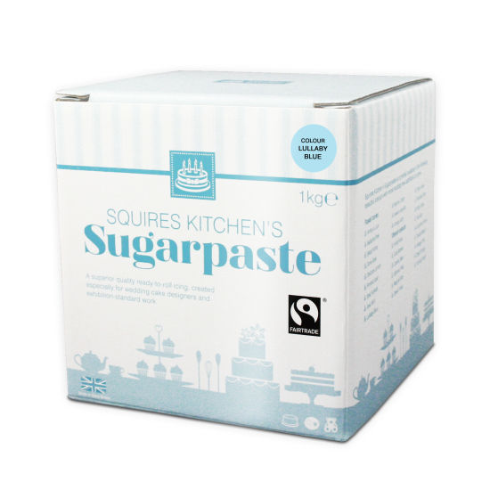 SK Fairtrade Sugarpaste Lullaby Blue 1kg