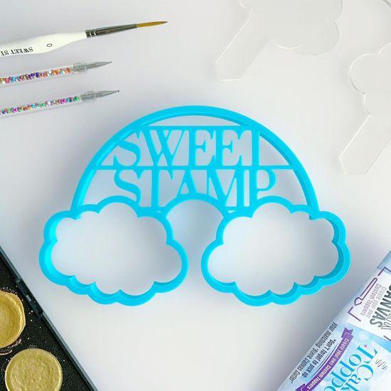 Sweet Stamp Blank Canvas Rainbow Cutter