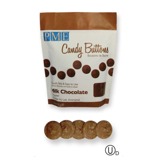 PME Candy Buttons - Milk Chocolate 340g (12oz)