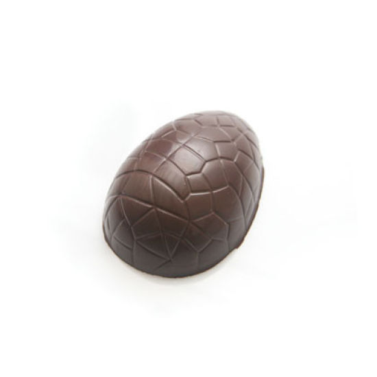Cracked Easter Egg Chocolate Mould - Small 4.5 Inch