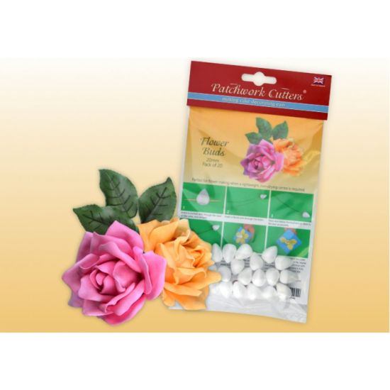 Flower Buds 20mm - Pack of 20