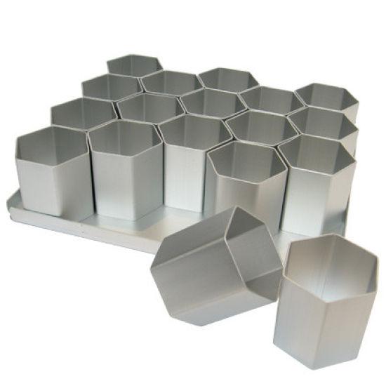 SK 18 Compartment Hexagonal Mini Pan
