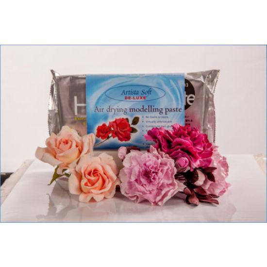 Artista Soft De-Luxe Air Drying Modelling Paste White 200g