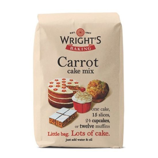 Wright's Carrot Cake Mix 500g