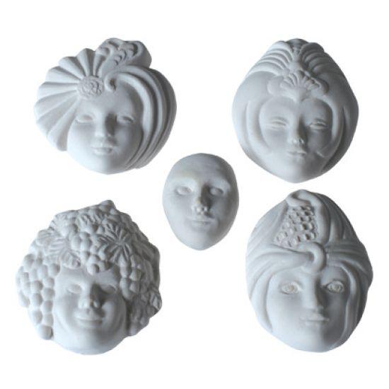 SK-GI Silicone Mould Venetian Masks