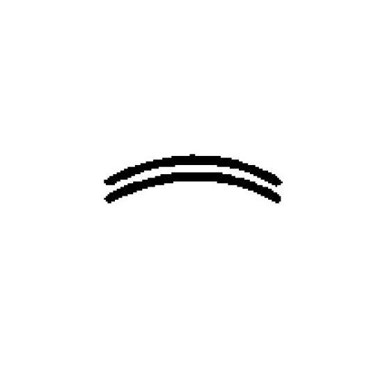 """Closed Curve Crimper Plain Edge 19mm (3/4"""")"""