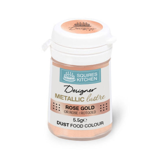 SK Designer Metallic Lustre Dust Rose Gold 5.5g