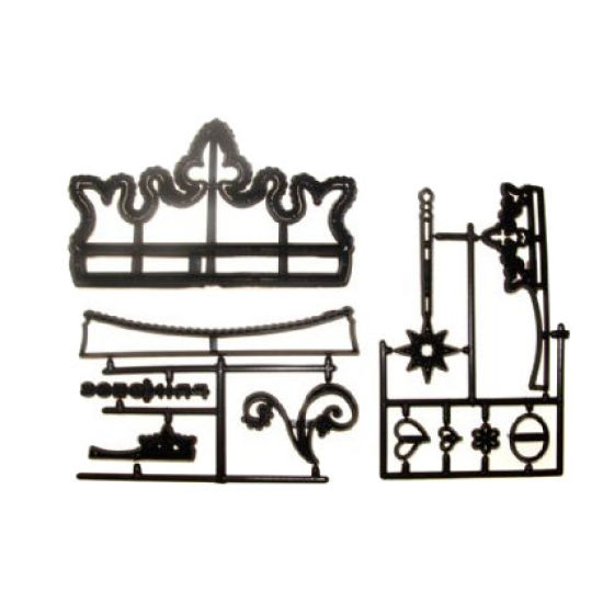 Patchwork Cutter & Embosser Crowns