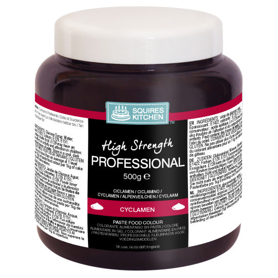SK Professional Food Colour Paste Cyclamen (Ruby) 500g