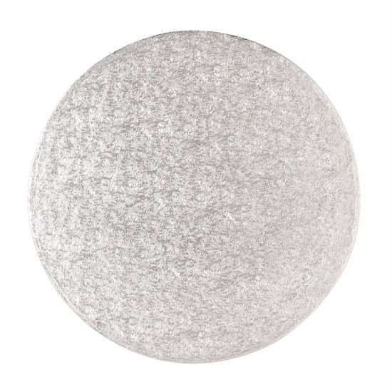 Silver Drum 1/2 Inch Thick Round 4 Inch - Pack of 5