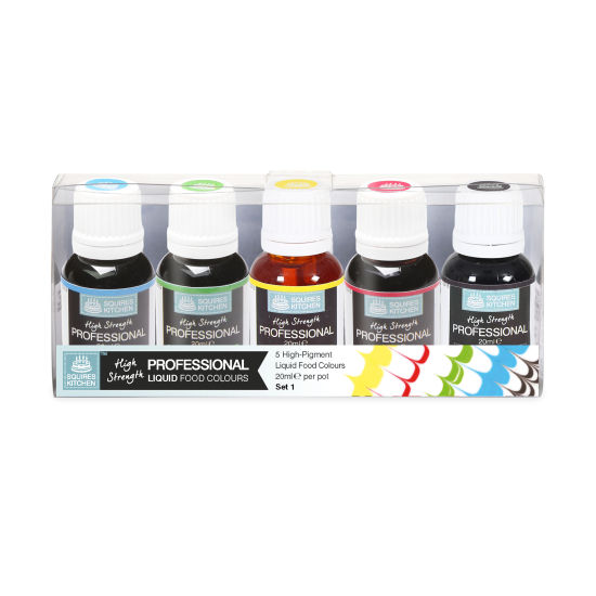SK Professional Food Colour Liquid Set 1