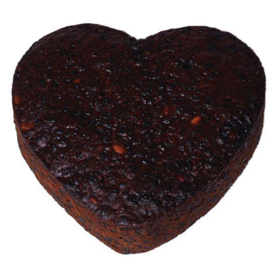 Heart Rich Fruit Cake 6 Inch