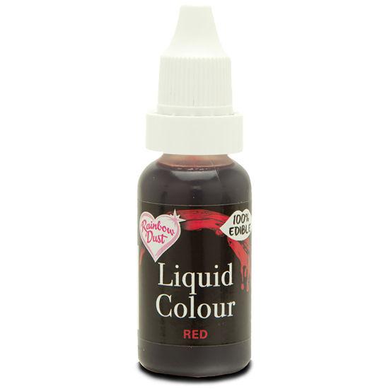 Rainbow Dust Liquid Colour - Red 19g
