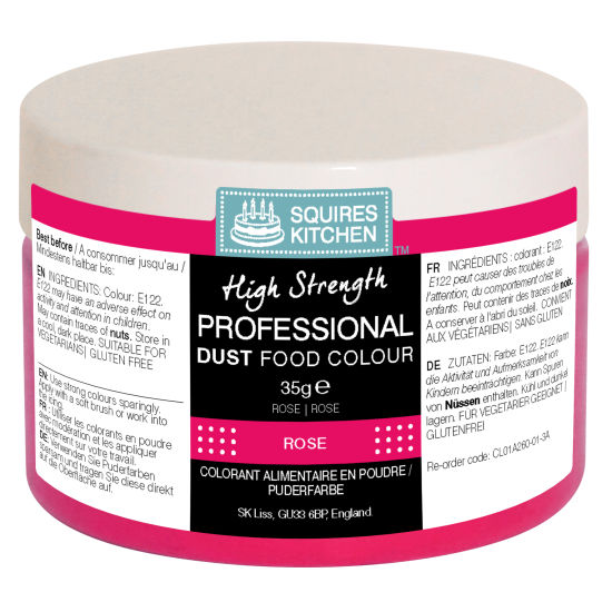 SK Professional Food Colour Dust Rose 35g