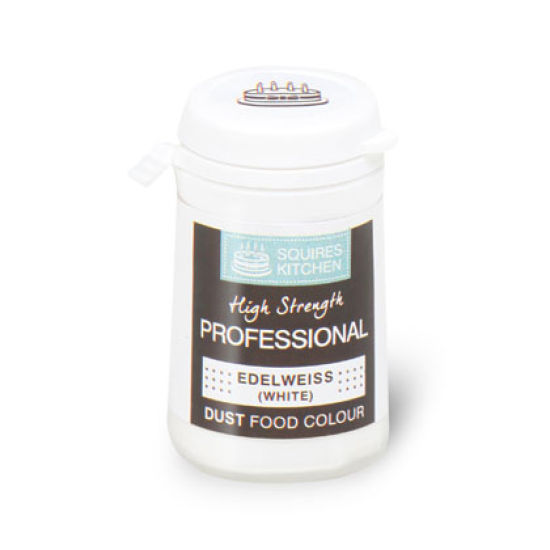 SK Professional Food Colour Dust Edelweiss (White) 4g