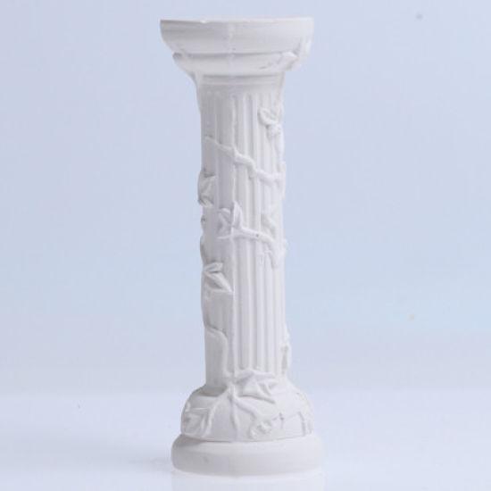 """SK Plaster Pillar Ivy 10cm (4"""")"""