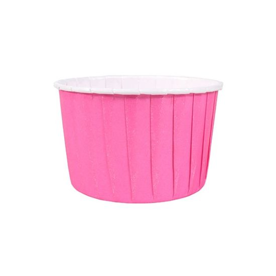 Hot Pink Baking Cases Pack of 24