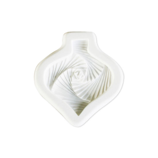 SK-GI Designer Mould Iris Teardrop Bauble by Sarah Joyce