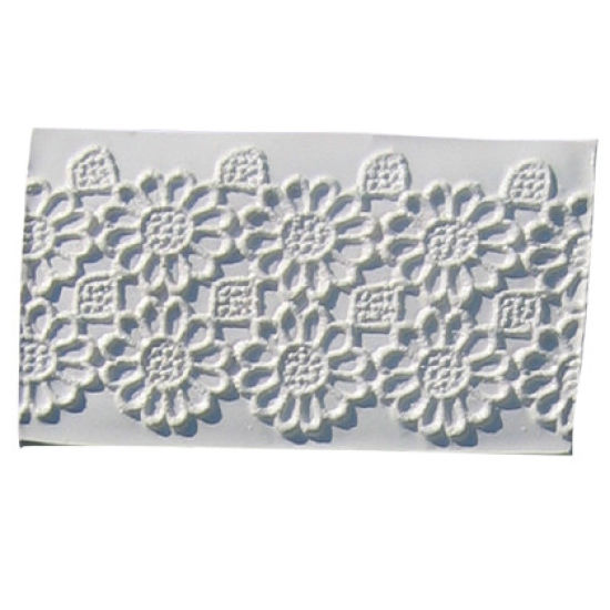 SK-GI Silicone Mould Lace Geometric Flower