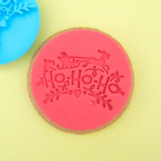 Sweet Stamp Ho Ho Ho Cupcake Embosser