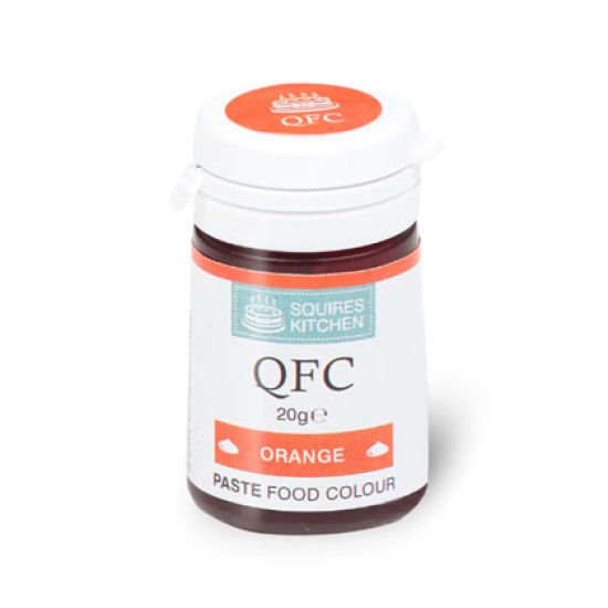 SK QFC Quality Food Colour Paste Orange 20g
