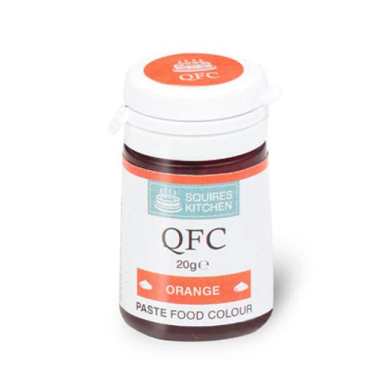 SK QFC Quality Food Colour Paste Orange 20g
