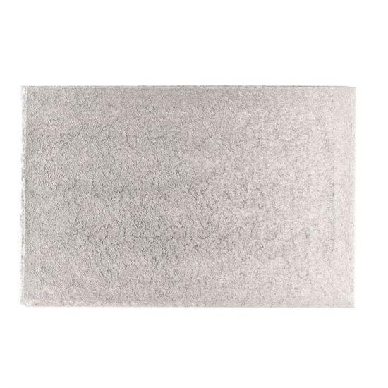 Silver Cut Edge Log Cards 4x6''