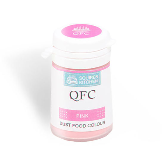 SK QFC Quality Food Colour Dust Pink 4g