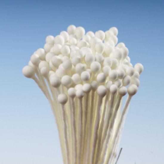 Cream Matt Round Head Stamens - Small