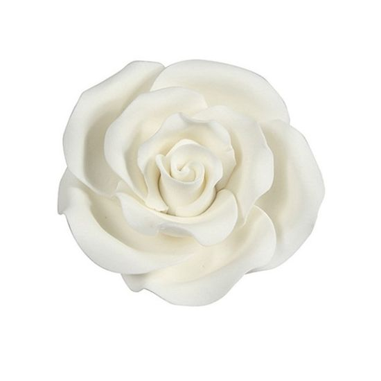 Sugar Soft Roses White 38mm