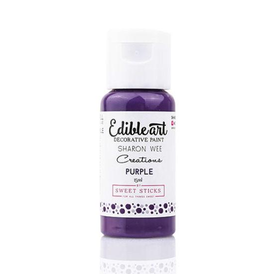 Sweet Sticks Edibleart Decorative Paint Purple 15ml