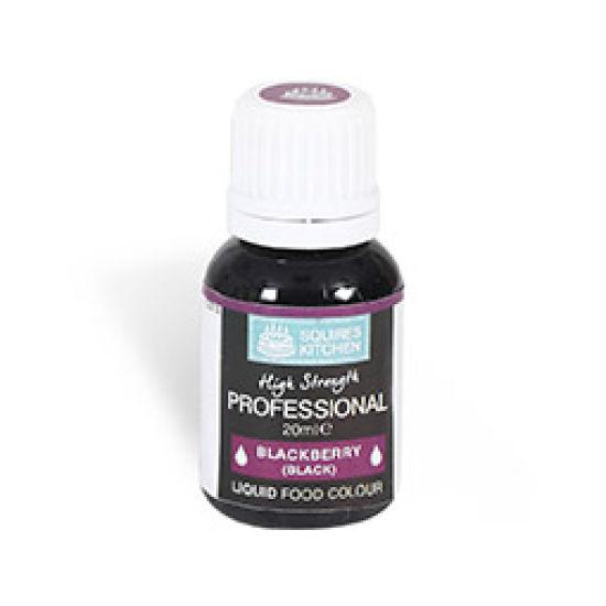 SK Professional Food Colour Liquid Blackberry Black