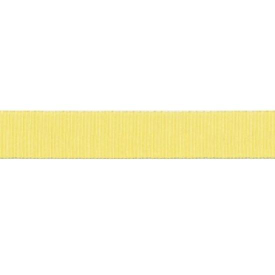 Lemon Grosgrain Ribbon 16mm