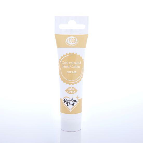 Rainbow Dust ProGel Professional Food Colour - Cream