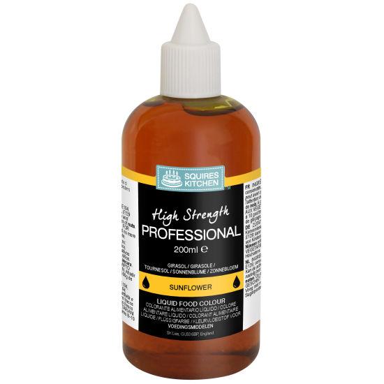 SK Professional Food Colour Liquid Sunflower