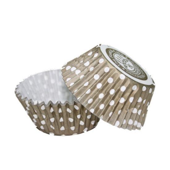 SK Cupcake Cases Dotty Gold - Bulk Pack of 360