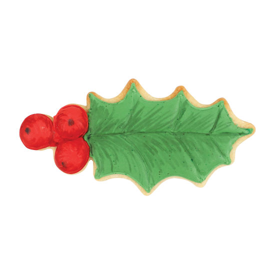 SK Winter Holly Leaf Cookie Cutter