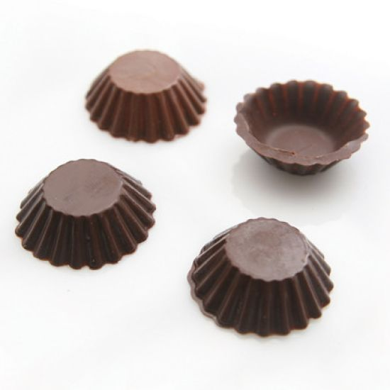 Home Chocolate Factory Chocolate Mould Fluted Cup
