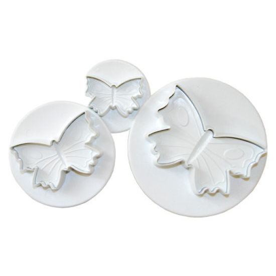 PME Butterfly Plunger Cutters Set of 3