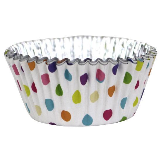 PME Polka Dot Foil Lined Baking Cases Pack of 30