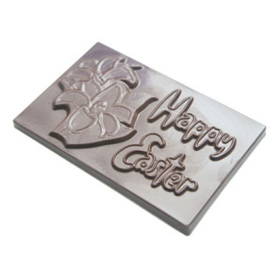 Easter Chocolate Mould Happy Easter Card