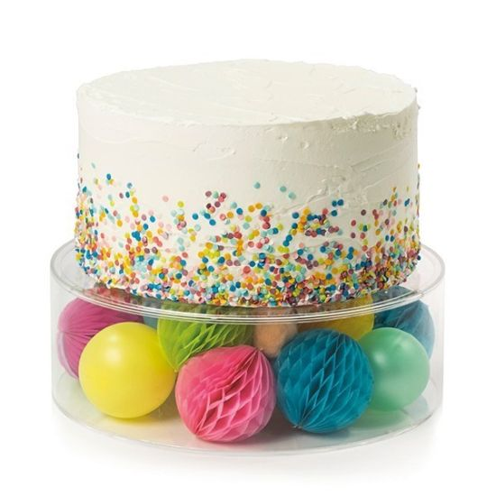 Fill-A-Tier Acrylic Fillable Cake Display