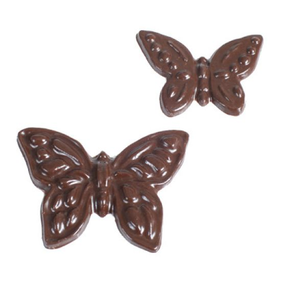 Chocolate Mould Butterflies Set of 5