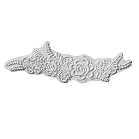 SK-GI Silicone Mould Lace Rose & Lily of The Valley