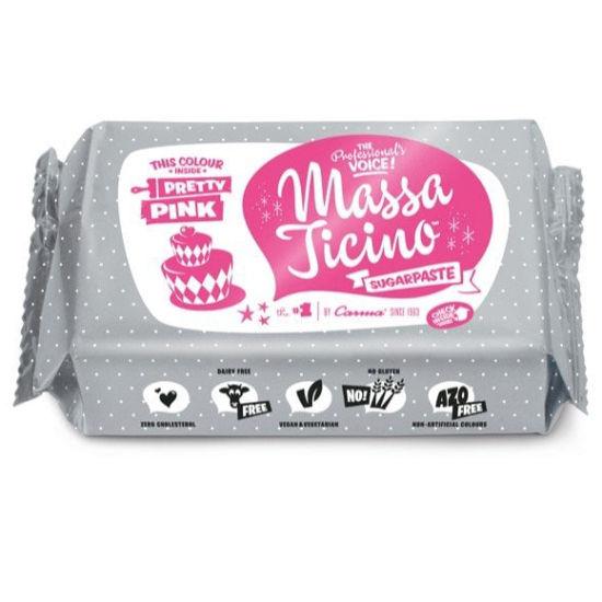 Massa Ticino Sugarpaste Pretty Pink 250g